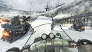 Snowmobile Ramp Black Ice MW3