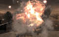T-72 blowing up