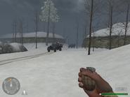 2 вражеских грузовика (Ракета)