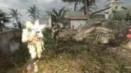 AdvancedRookie Villa Tropas soldiers in firefight