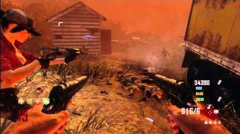 Black Ops 2 Zombies Tranzit Multiplayer Online Gameplay(part2)