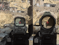 Call of Duty Modern Warfare 2019 Складываемый гибридный прицел 4х 4