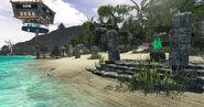 Escape from zombie island beach 1