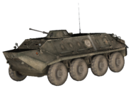 BTR-60 model