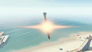 Hellstorm cluster missile close up BO4