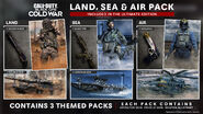 Land, Sea and Air Pack BOCW