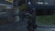 Spectre in-game third-person ICR-1 BO3