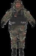 Ultranationalist woodland camo model MW2