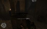 Basement weapon cache Approaching Hill 400 CoD2