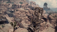 Overhead map view Goldrush CoD Ghosts