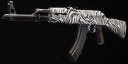 AK-47 Zebra Gunsmith BOCW