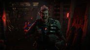 Battery screaming in her nightmare whilst in a coma BO4