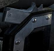 M1911 holstered BOII