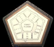Pentagon 1st Floor Plan