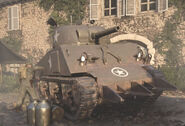 Call of Duty WWII M4 Sherman