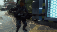 SEAL Team Six Member with Death Machine BOII