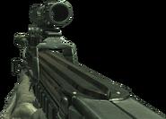 P90 ACOG Scope MW2