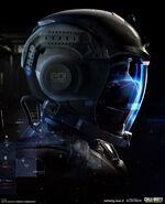 SCAR helmet concept IW