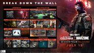 SeasonFour Reloaded RoadMap Warzone BOCW