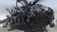 U.S. Army Rangers in MH-6 Little Bird MW2