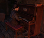Ghost playing piano Buried BOII