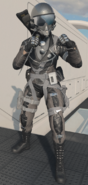 Hyersonic Portnova skin in-game third-person BOCW