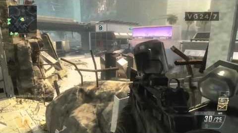 Black Ops 2 TDM Aftermath Map Multiplayer Gameplay (Gamescom)