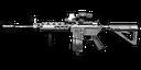 M4A1 magnifier MW3