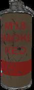 M18 smoke grenade red WaW