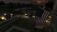 Флаг на фоне хлама