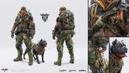 Black Ops 4 Nomad Concept Art