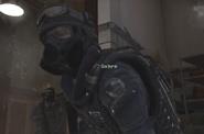 Sabre gas mask