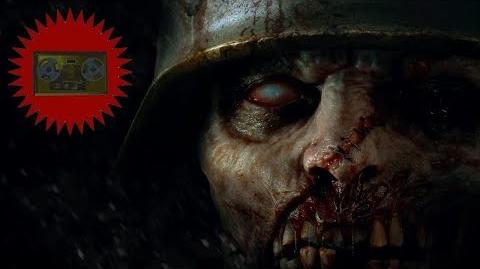 "Call of Duty WWII Zombies - All ""The Shadowed Throne"" Audio Recordings"
