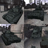 CoDFH Panzer IV in-game