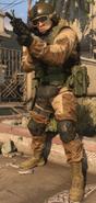 MW19 Allegiance Mil-Sim LMG Desert