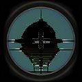 Default sniper scope reticle