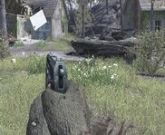 C4 Detonator Firing a Brick