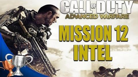 Call of Duty Advanced Warfare - All Intel Locations - Mission 12