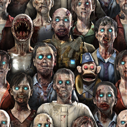 Zombies Camouflage texture BOII