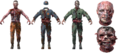 Moon zombie character models BO