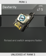 Dexterity Unlock Card IW