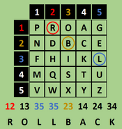 PolybiusSquare Solution Terminal4 September22 PawnTakesPawn