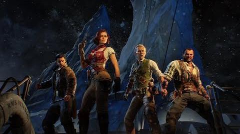 Официальный трейлер Call of Duty® Black Ops 4 — режим «Зомби – Рейс отчаяния» RU