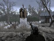 Памятник в Припяти 1996