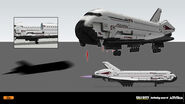 Space shuttle concept IW