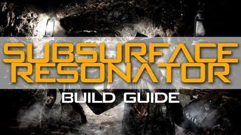 Buried Build Guide Subsurface Resonator