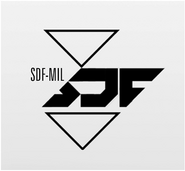 SDF-MIL Acronym Logo by Aaron Beck IW