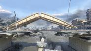 Мостоукладчик в действии