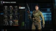 Call of Duty Body Female BO3