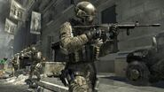 Frost aiming M4A1 Black Tuesday MW3